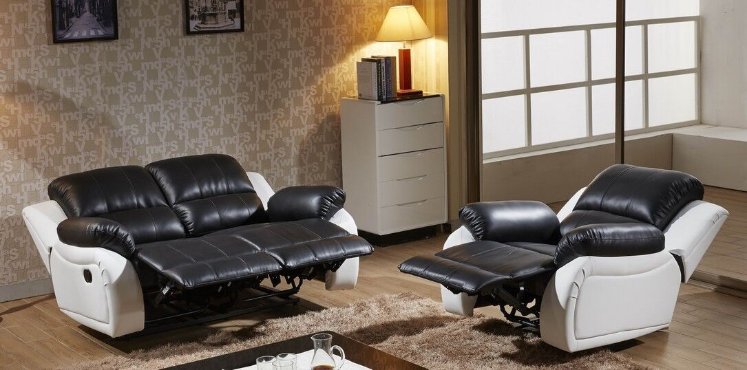 voll leder couch schlafsofa relaxsessel fernsehsessel 5129. Black Bedroom Furniture Sets. Home Design Ideas
