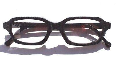 New Vtg 1995 L.A. Eyeworks Retro Abstract Sunglasses - Black Hut 101