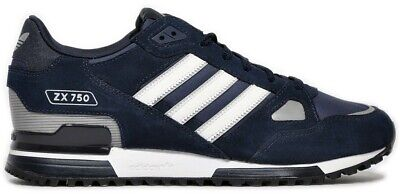 adidas Originals ZX 750 Men's Trainers - Navy/White - G40159 - Size UK 7-12