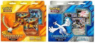 Pokemon TCG: Legendary Battle Decks, Lugia & Ho-Oh Bundle (BOTH (Legendary Battle Decks Ho Oh And Lugia)