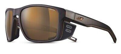 Julbo Shield Black Cross-Mountain Sunglasses PhotoChromic Reactiv 2-4 Lens