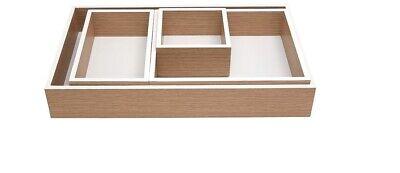 Martha Stewart Office Modular Tray 4 Organize Desk Drawer Junk