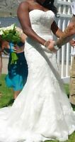 Beautiful wedding dress price reduce