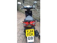 Honley Oliver Scooter. One owner. Genuine miles. Cheap runabout