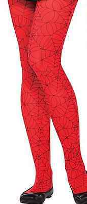 Child/ Teen Spider Girl Spider-man tights One Size Nylon Stockings - Spiderman Girl Halloween Costumes