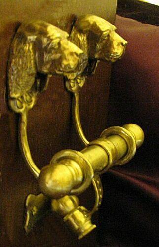 SUSSEX SPANIEL Bronze DUET Door Knocker