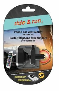 Magnetic and quick car phone mount