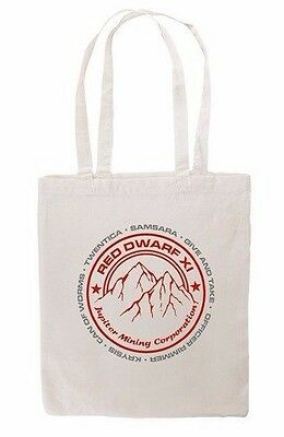 Red Dwarf XI JMC Logo Natural Tote Bag
