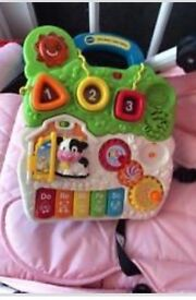 Vtech baby walker with phone & walker. In good condition used for 6 months