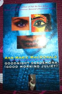 Goodnight Desdemona (Good Morning Juliet) by Ann-Marie MacDonald