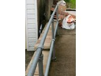 Large amount of disability mobility outdoor handrail