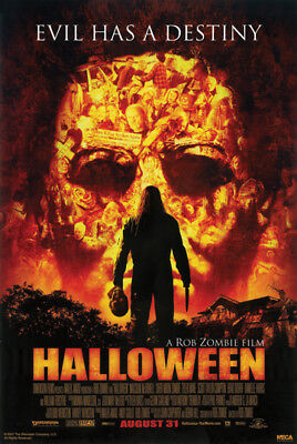 Halloween (2007) Rob Zombie Michael Myers Scary Horror Movie 24x36 Poster Print](Halloween Rob Zombie)
