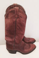Authentic J. Chisholm Dover series leather cowboy boots