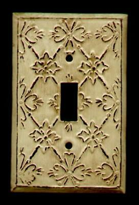 ANTIQUE ORNATE LIGHT SWITCH PLATE 1 - SWITCH / - Antique Light Switchplates