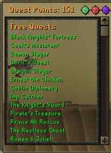 OldSchool Runescape/RS3 account! 7m bank - 150qp - Great Stats