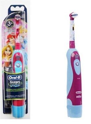 Braun Oral B Kids Battery Toothbrush - Braun Oral-B Kids Stages Advance Power Battery Toothbrush, Disney Princess Girls