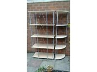 Set Of Display Shelves and Corner Shelving Unit