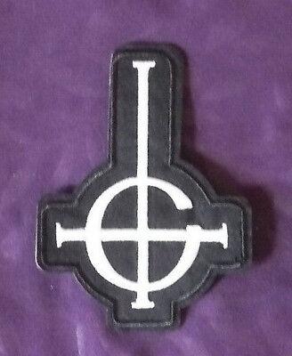GHOST GHOST B.C. PATCH GRUCIFIX  PAPA EMERITUS HEAVY METAL DOOM STONER METAL