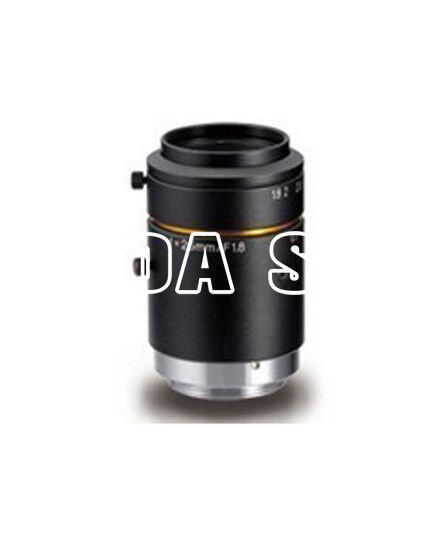 """KOWA LM25JCM-S 3Megapixel 25mm 2/3"""" F1.4 C manual iris industrial camera Lens#SS"""