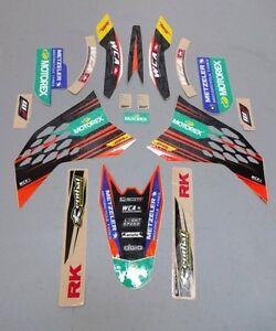 KTM SX 65 Motorex Graphics Decal Kit 2009-2015 West Coast NEW Motocross SX65
