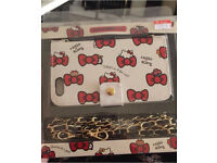 Hello kitty iPhone 6 case with chain
