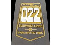 Ishiwata 022 Fork Decals 1 Pair Purple sku Ishi857