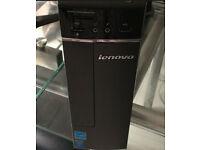 Lenovo H30-50 slimline PC i3 3.60GHz 8GB 320GB usb3 Win10 WiFi