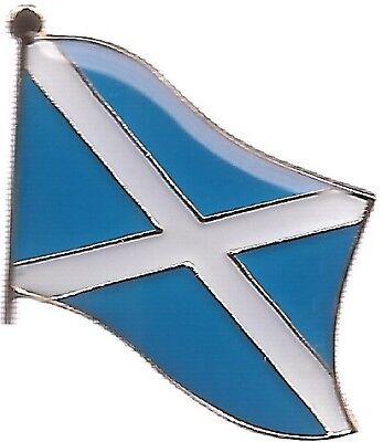 LOT OF 12 Scotland Cross Flag Lapel Pins - Scotland Flag Pin