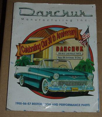 1955-57 Chevrolet Restoration Parts Catalog 2006 DANCHUCK USA 55 Chevy Restoration Parts