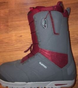 Mens Burton Ruler Snowboard Boots - Worn Once
