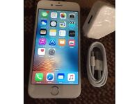iPhone 6 16gb silver/ white