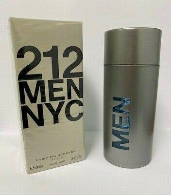 212 NYC MEN by Carolina Herrera Cologne 3.4 OUNCE SEALED FREE SHIPPING