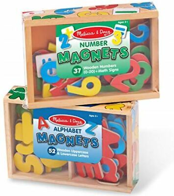 Melissa & Doug Alphabet and Number Magnets Set