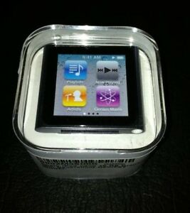 Apple iPod Nano 6th Gen 8GB Graphite  *Worldwide Shipping*