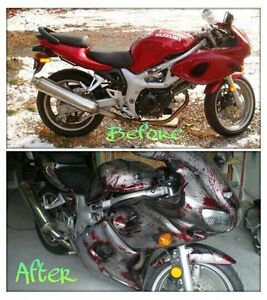 Motorcycle Custom Paint & Airbrushing Windsor Region Ontario image 2