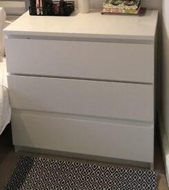 IKEA Malm 80 X 78 Drawers
