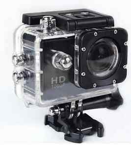 Action camera Full HD WIFI and more than 10 accessories
