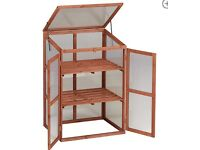 2 tier Dobbies wooden growhouse