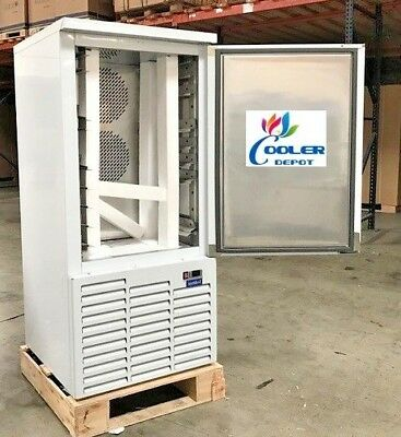 New Commercial Shock Freezer Blast Chiller Model Bl10 Stainless Steel -38f