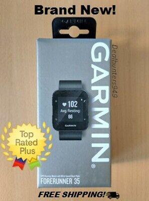 Garmin Forerunner 35; Easy-to-Use GPS Running Watch, Black - Brand New!