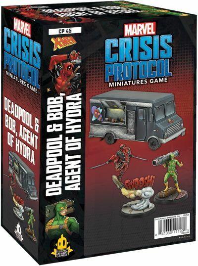 как выглядит Marvel Crisis Protocol Deadpool Bob, Agent of Hydra фото