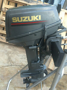 SUZUKI 9.9 OR 15 HP LOWER UNIT WITH PROPS SHORT SHAFT