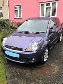 Ford Fiesta 1.25 Climate 3dr 2007 Aircon, Cd, Alloys, 5 speed, Privacy Tints, 8 Mths MOT