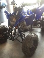 Yamaha raptor 125 2012 for trade
