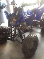 Yamaha raptor 125 2012 barely used