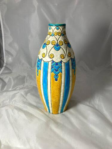 Boch Freres Art Deco Vase