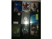 Dvd collection of films and series