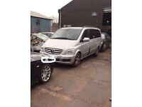 Mercedes Benz Vito W639 breaking for parts