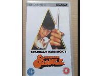 7 UMD for PSP films (Clockwork orange, Silent hill, Rocky etc)