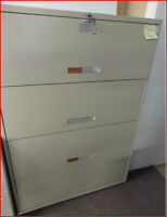 4 Drawer Lateral Filing Cabinets $150